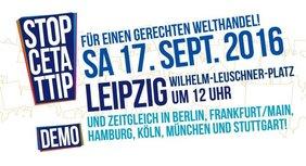 TTIP Demo Leipzig