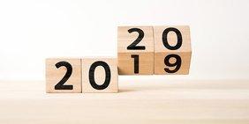 2020 Jahrezahl