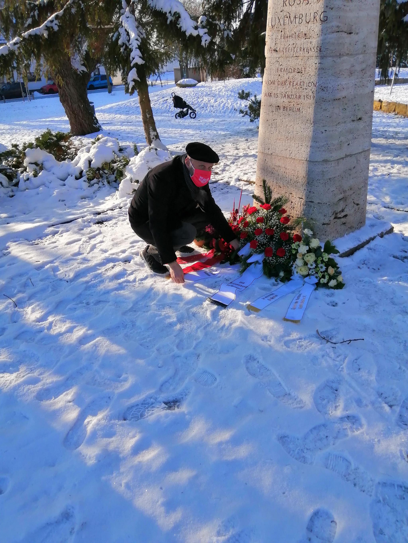 Gedenken Rosa Luxemburg