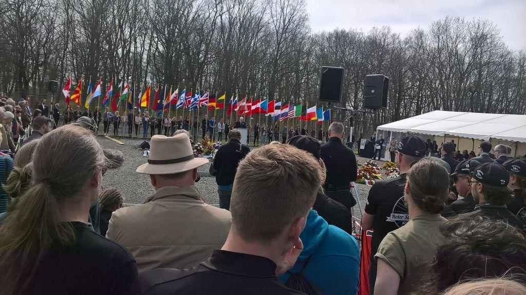 Gedenkveranstaltung in Buchenwald