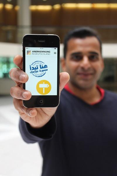 App Anerkennung Deutschland