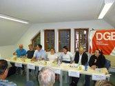 Gespräch mit DirektkandidatInnen in Saalfeld