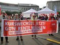 Rentendemo in Kassel