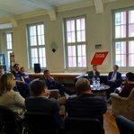 Gespräch mit OB-Kandidaten in Jena